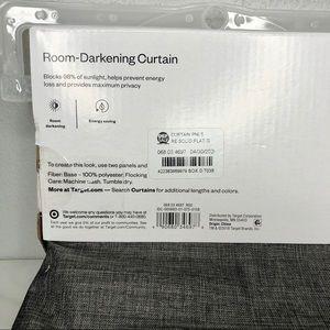 Room Essentials Accents - Room Essentials Thermal Room Darkening Curtain Set